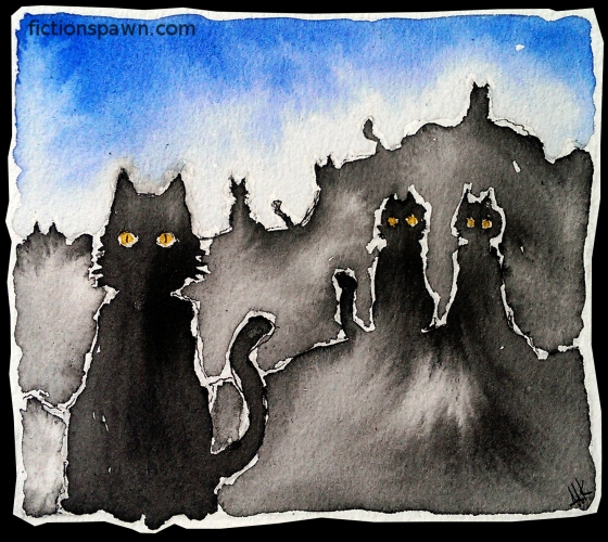 Black cats. Aak fictionspawn