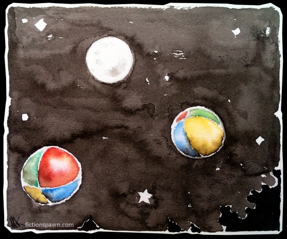 Juggling balls and the moon. Aak fictionspawn