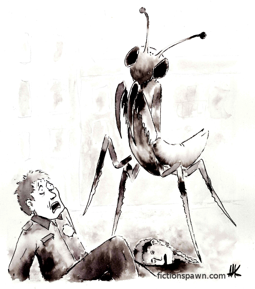 Giant Mantis Aak fictionspawn.com