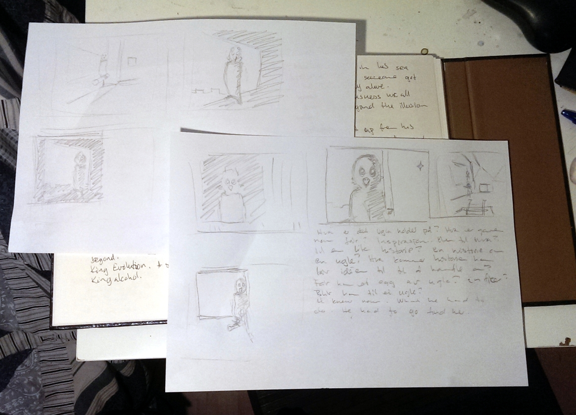 Sketches and Notes Aak fictionspawn