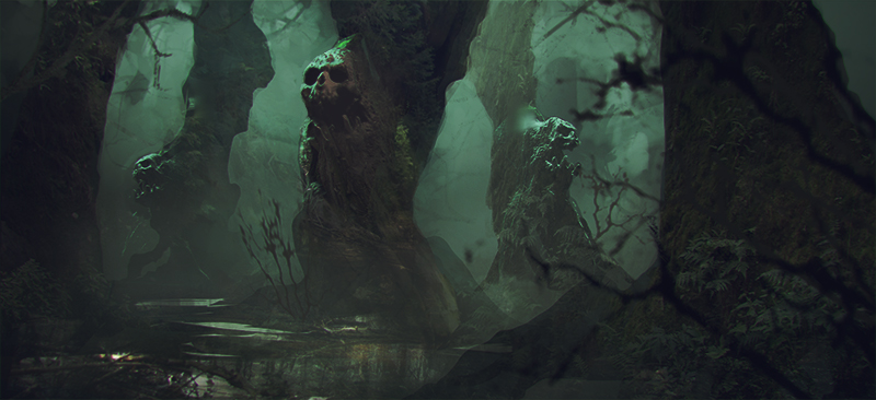 creepy-forest-by-ralvar-2014