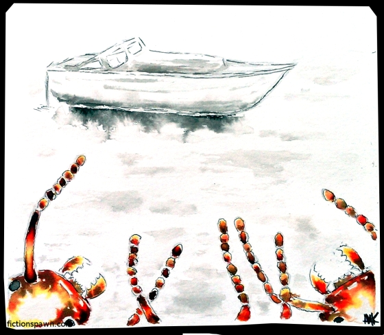 Ants watching a boat. Aak fictionspawn