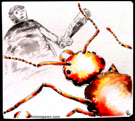 Man ant fight. Aak fictionspawn