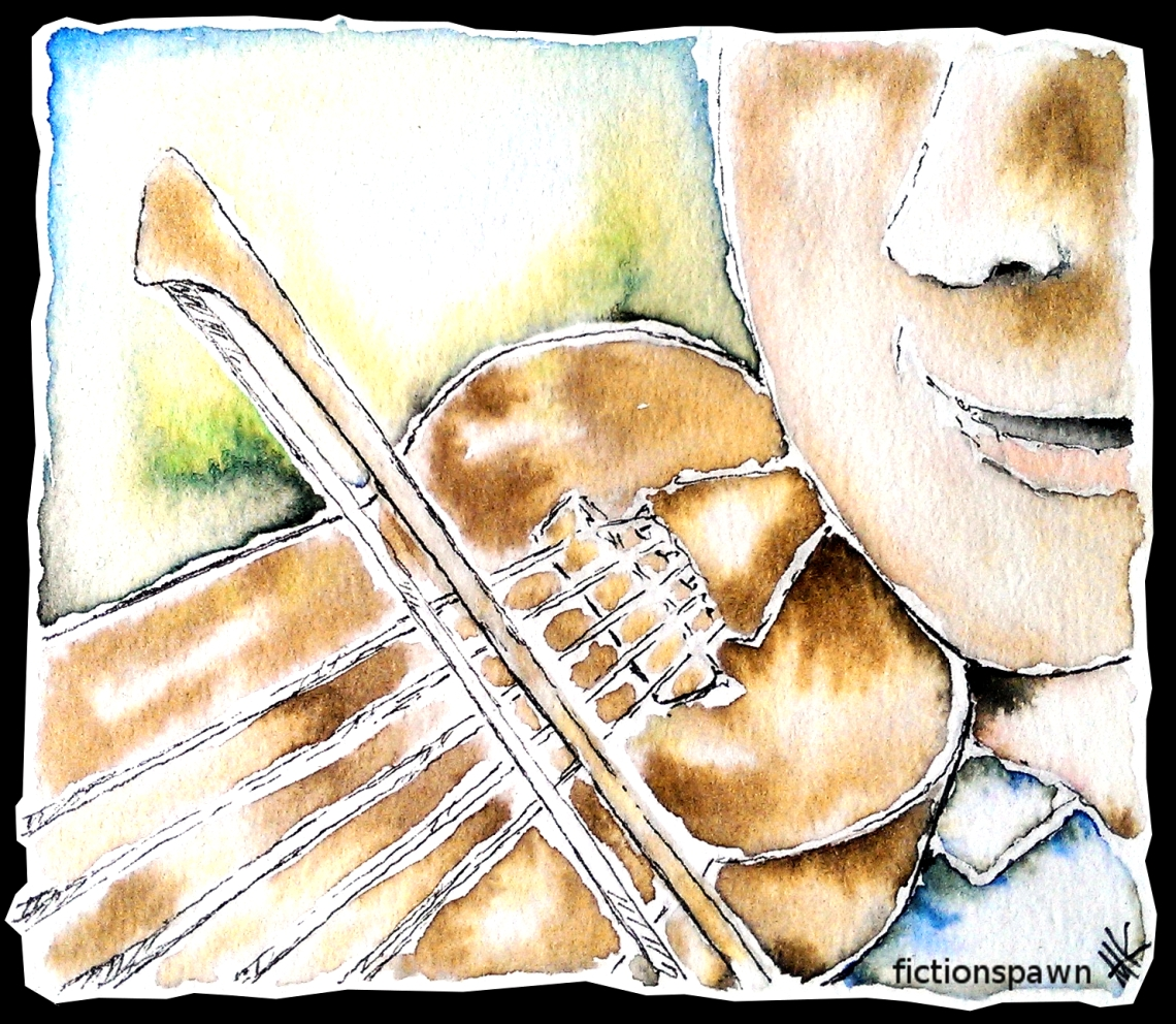 Five string violin. Aak fictionspawn