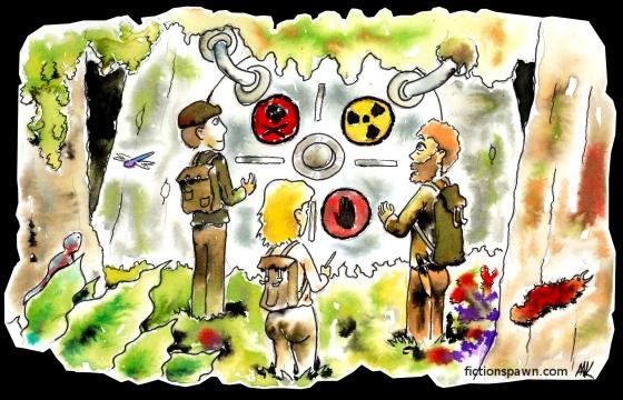 Nuclear waste deposit. Aak fictionspawn.