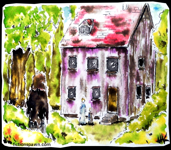 A house in the forest. Aak fictionspawn