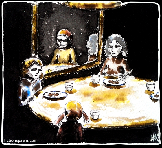 Family supper. Aak fictionspawn