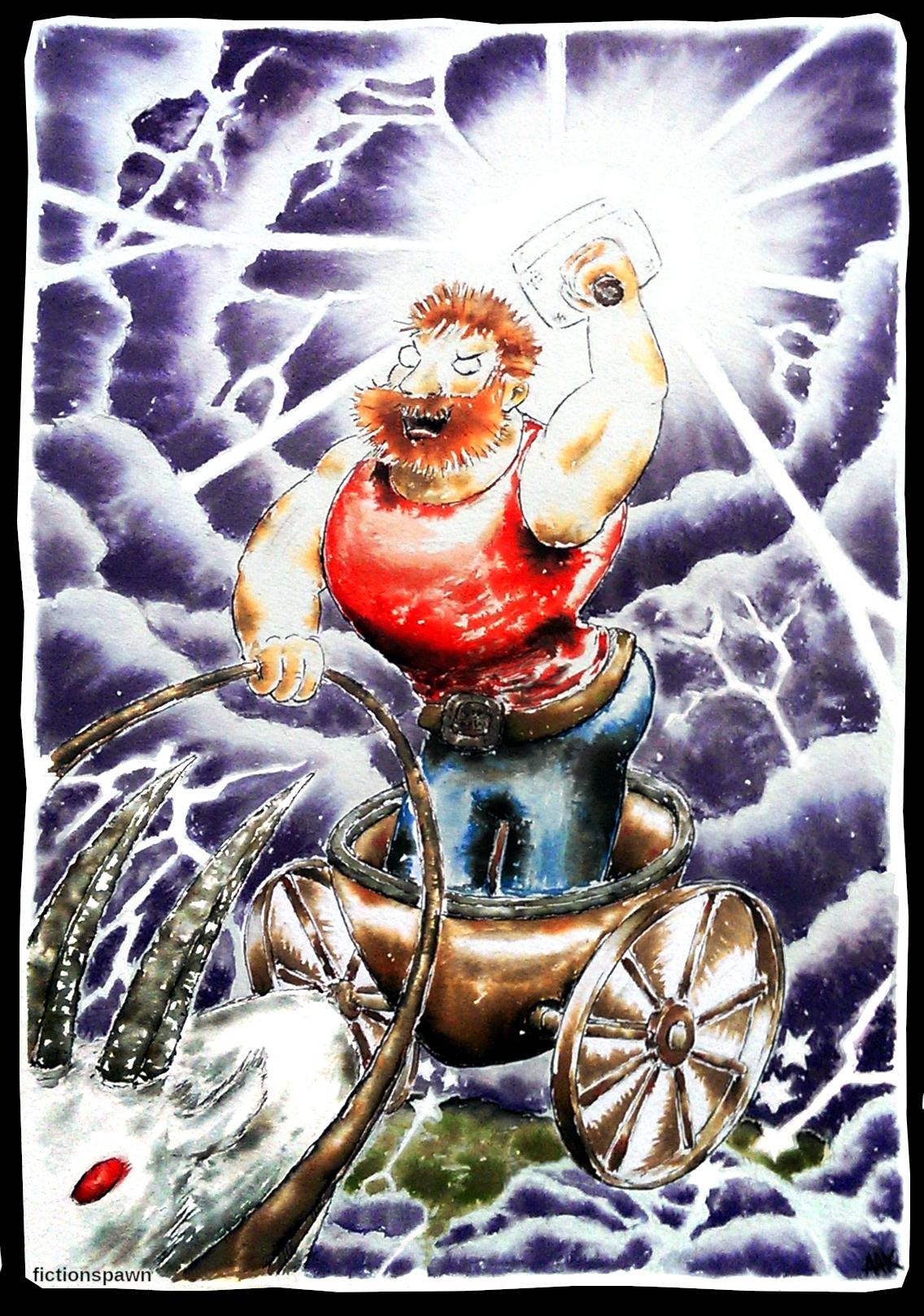 Thor, god of thunder Aak fictionspawn