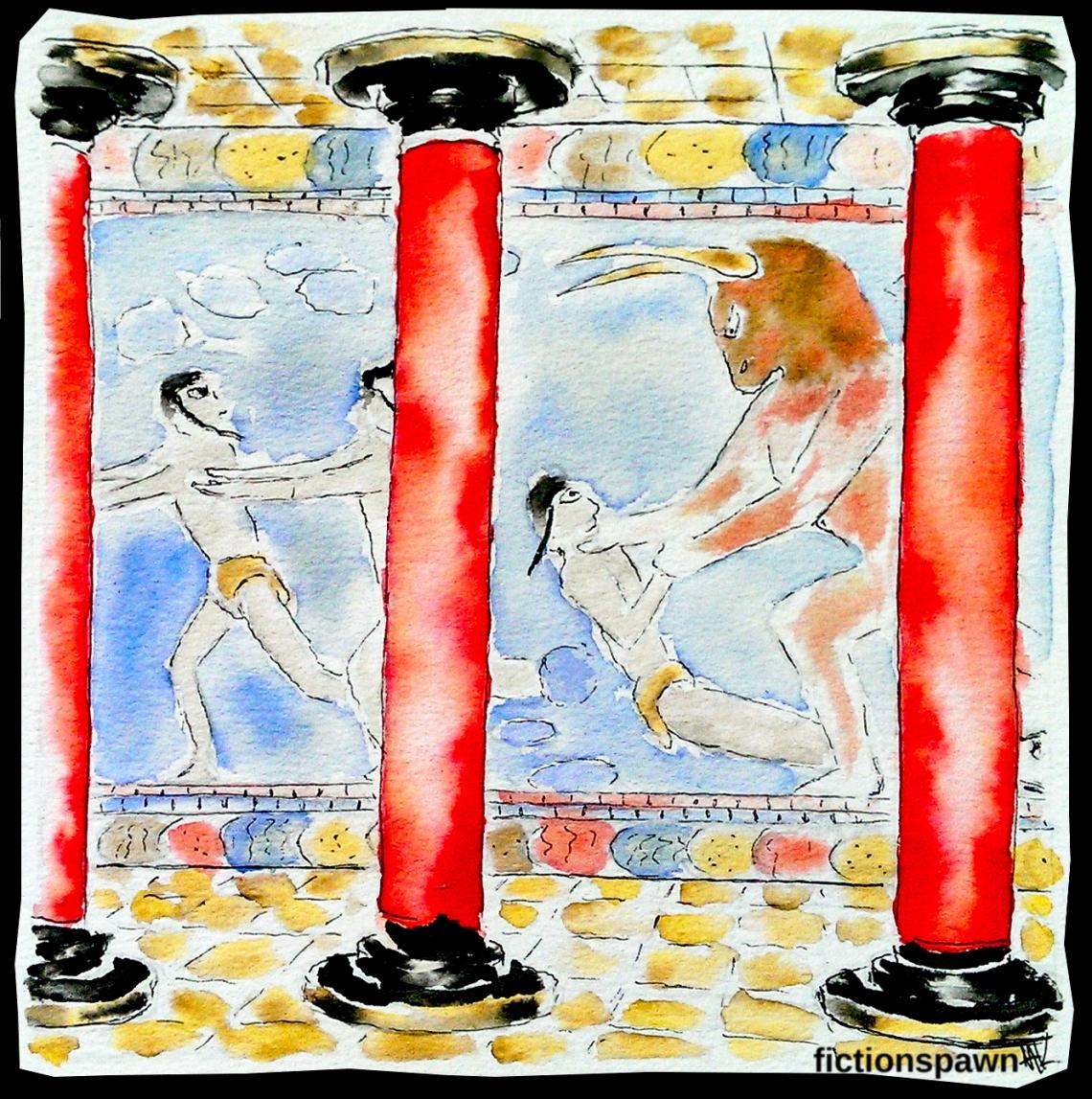 Minotaur Aak fictionspawn