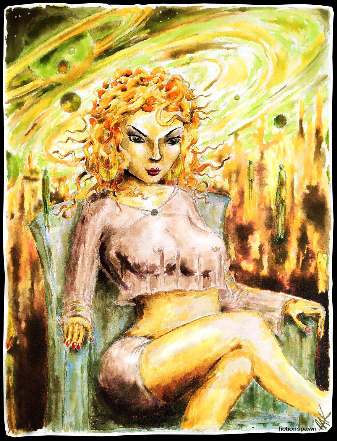 Goddess Aak fictionspawn
