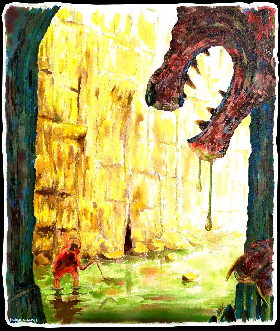 Swamp creature 2