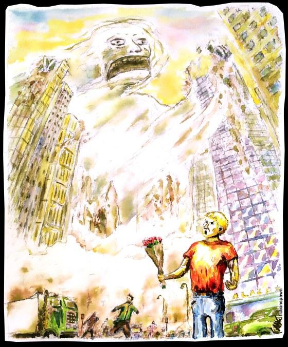 City destructiuon Aak fictionspawn