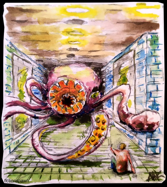 Octopus monster Aak fictionspawn