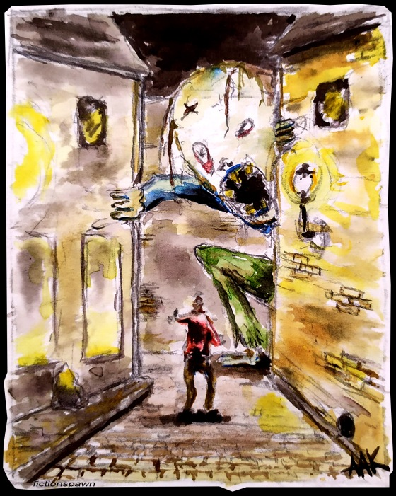 Street monster Aak fictionspawn
